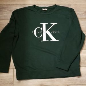 Mens calvin Klein jeans Sweater sz L